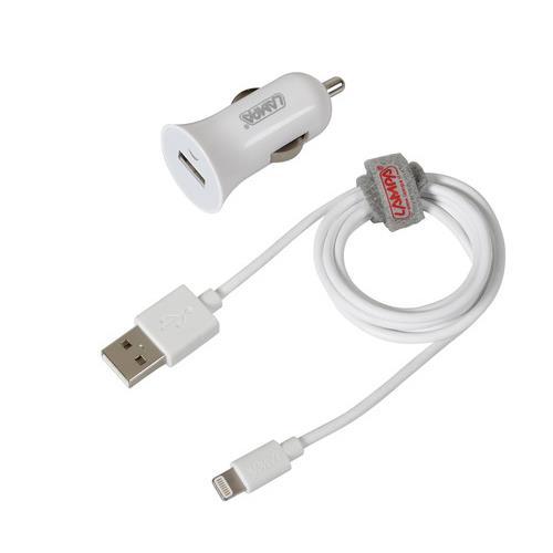 Καλώδιο Φορτισης / Συγχρονισμού USB για Apple 100cm 8pin με αντάπτορα USB αναπτήρα