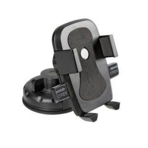 Βάση Κινητού EASY-LOCK με Βεντούζα για ταμπλώ και τζάμι (75mm max)