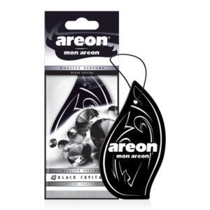 Αρωματικό δεντράκι αυτοκινήτου με άρωμα black crystal της εταιρείας Areon