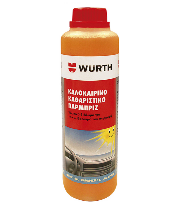 καλοκαιρινό καθαριστικό παρμπρίζ wurth