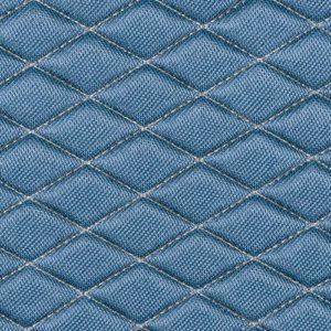 Πλατοκάθισμα με Προσκέφαλο COVER-TECH FABRIC 2τεμ. Γαλάζιο/Μπεζ