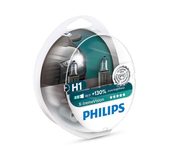 Philips H1 X-tremeVision +130% 12V 2τμχ