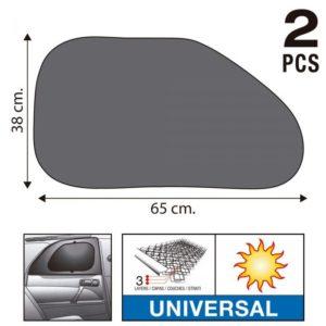 Sumex Κουρτινάκια Αυτοκινήτου Super UV με Τριπλό Στρώμα Προστασίας