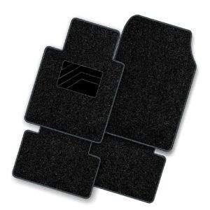 πατάκια τετράδα μοκέτα μαυρα imperial της guard